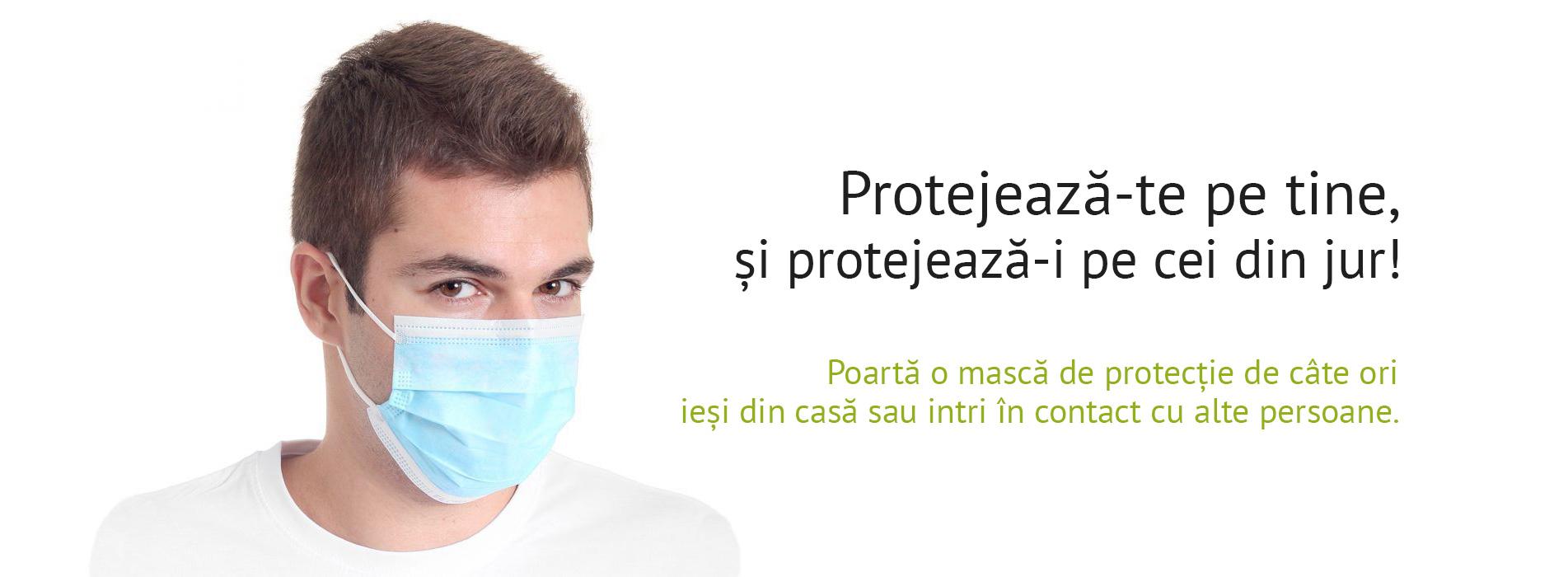 Protejează-te pe tine și protejează-i pe cei din jur