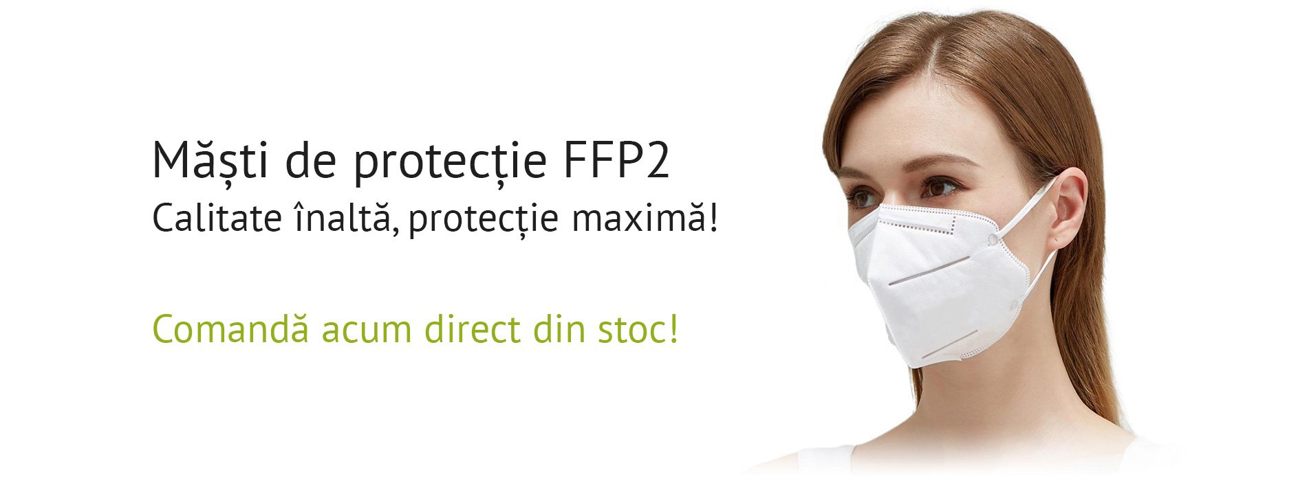 Măști de protecție FFP2, calitate înaltă, protecție maximă