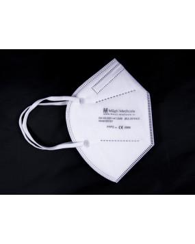 Mască de protecție FFP2 / KN95 reutilizabilă cu 5 straturi și cu supapă de aerisire