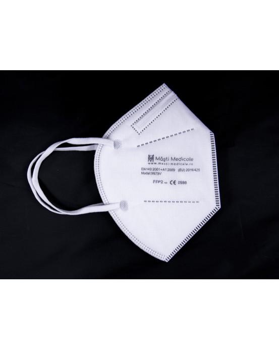Mască FFP2 / KN95 cu supapă - reutilizabilă, cu 5 straturi