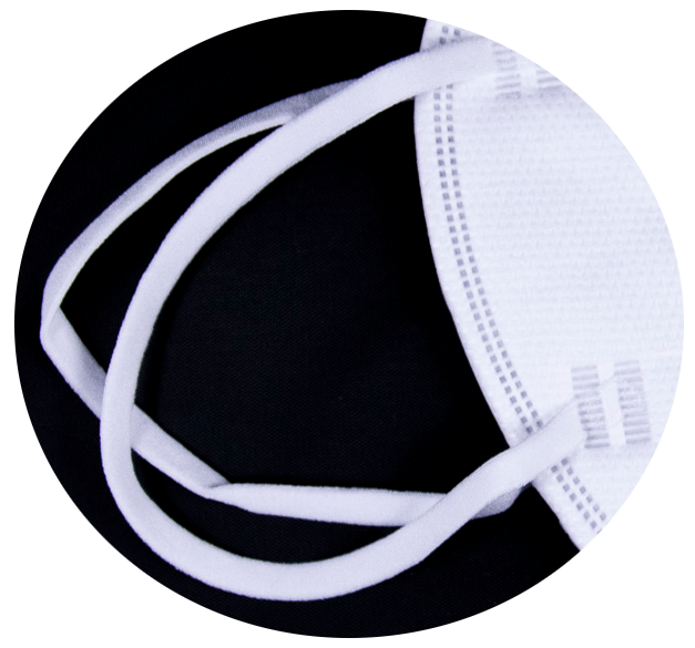 Mască ffp2 cu valvă și elastice